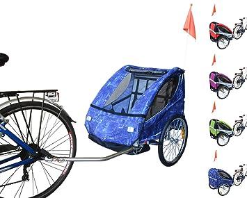 Papilioshop - Remolque carrito Eagle plegable para enganchar a la bicicleta para el transporte de 1