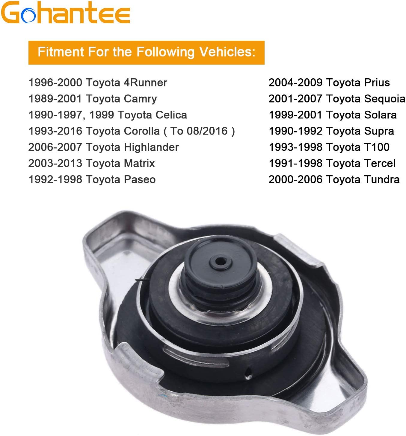 Toyota Matrix Prius Sequoia More Replace 16401-20353 1993-2016 ...