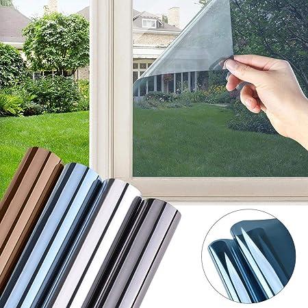 Spiegelfolie Fensterfolie Sichtschutzfolie Sonnenschutzfolie Fenster DE
