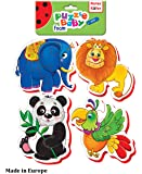 Foam Puzzles for Kids (4 in 1), Jigsaw Puzzles for Kids, Toddler Puzzles, Puzzles for Toddlers, Kids Puzzles, First Puzzle, Baby Puzzles