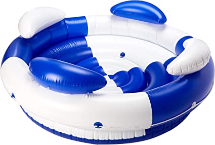 Amazon.com: Swimline sofá Isla tumbona piscina Flotador ...
