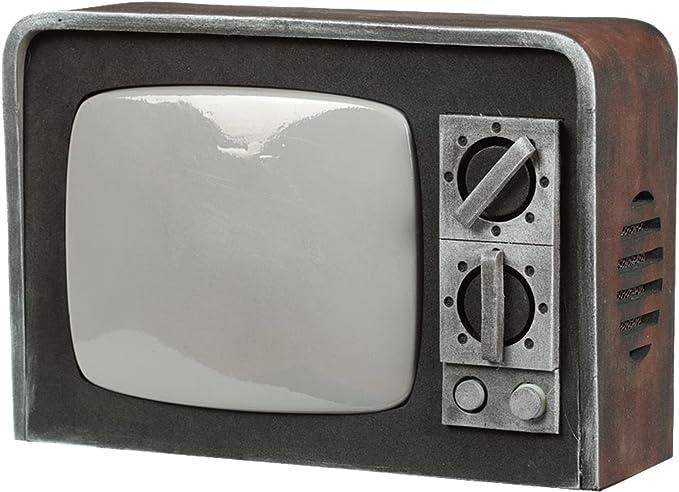 Televisor Antiguo con Luz y Sonido 31,5X22 Cm: Amazon.es: Juguetes ...