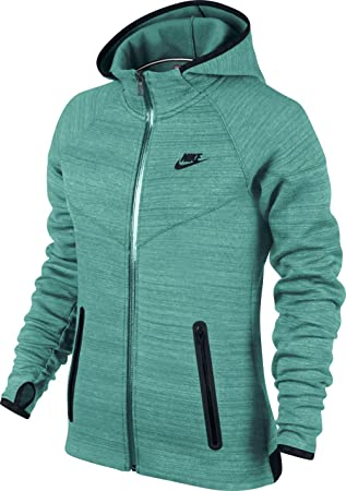 Nike Pullover High-Tech Fleece Windrunner Sudadera, Mujer: Amazon.es: Deportes y aire libre