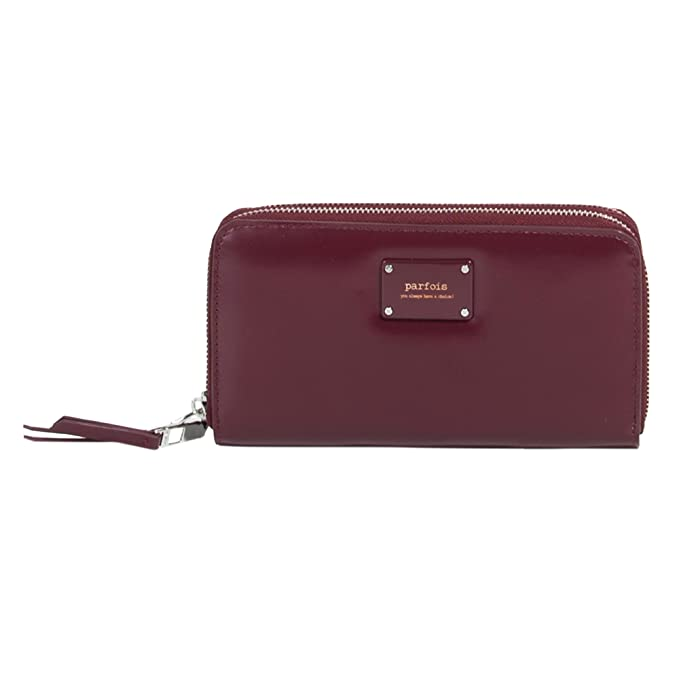 Parfois - Monederos Billetera Pvc Fantasia Burgundy ...