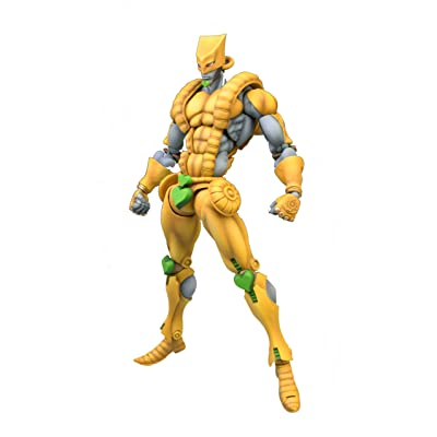 Medicos JoJo's Bizarre Adventure: Part 3--Stardust Crusaders: The World Super Action Statue (Released): Toys & Games