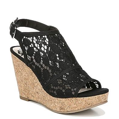 752d2ba5a1 Amazon.com | Fergalicious Karma Women's Sandal | Platforms & Wedges