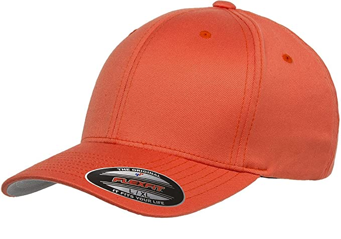 d91704d6 Flexfit 6277 Wooly Combed Twill Cap - Large/XLarge (Spicy Orange) at ...