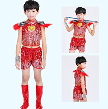ca6361d334fb Children s Jazz Dance Costume Boys and Girls Sequin Princess Tutu ...