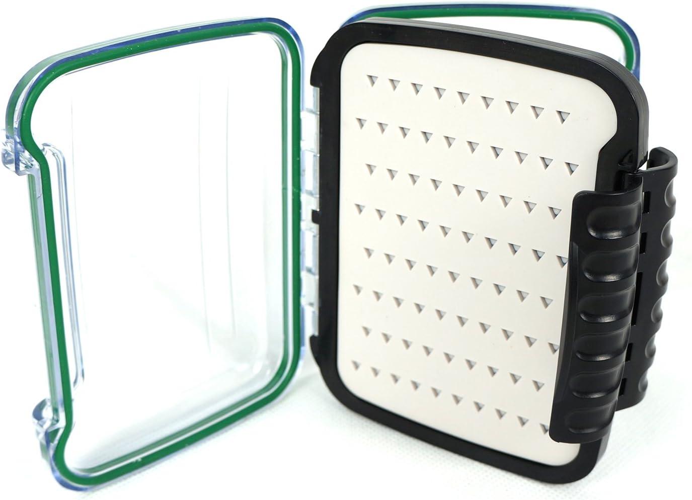 aventik inserciones de silicona doble cara caja de pesca con mosca ...