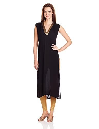 ITI Women's Straight Kurta Kurtas & Kurtis at amazon