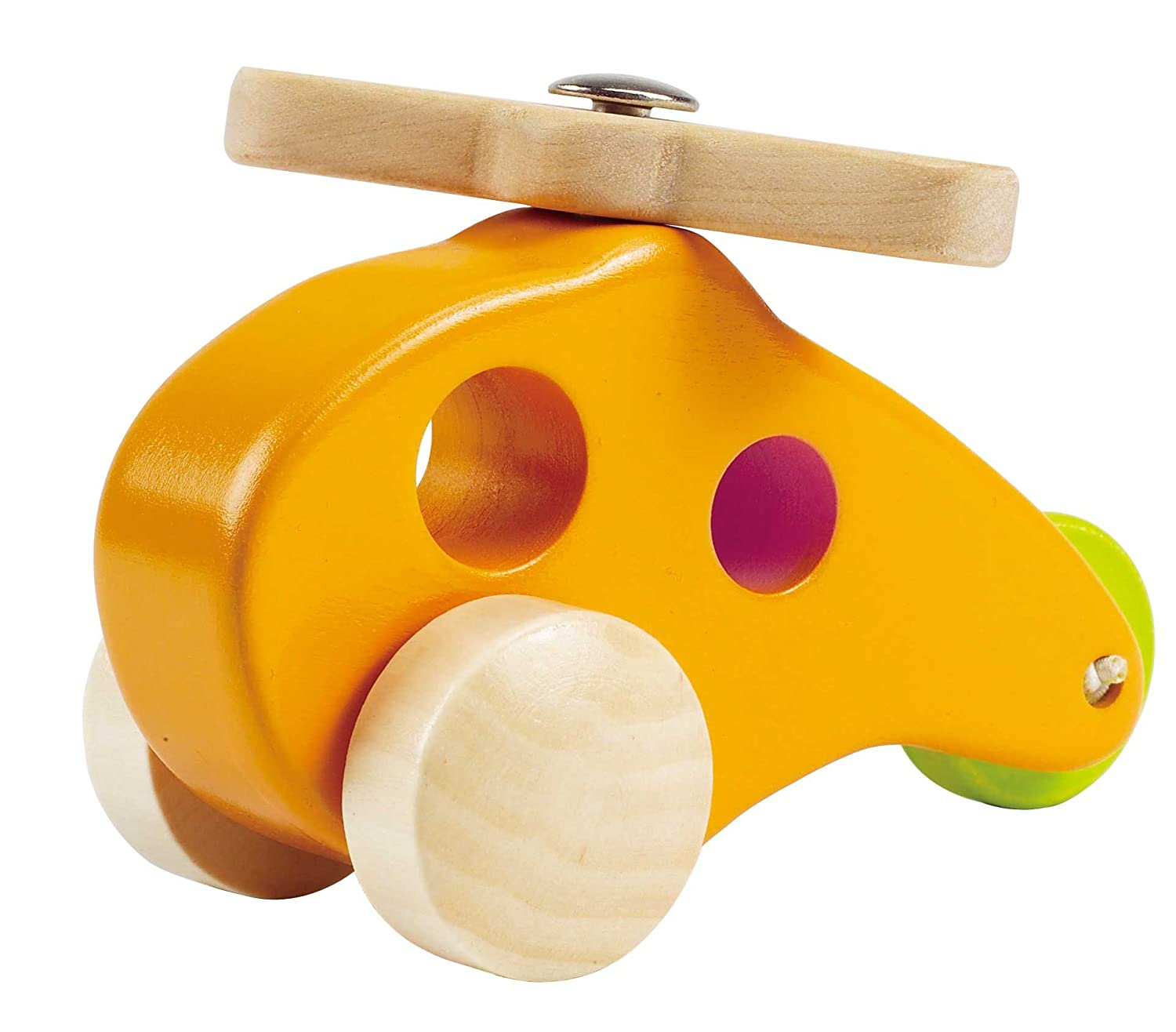 Amazon Hape Little Copter Wooden Toy Toddler Play Vehicle