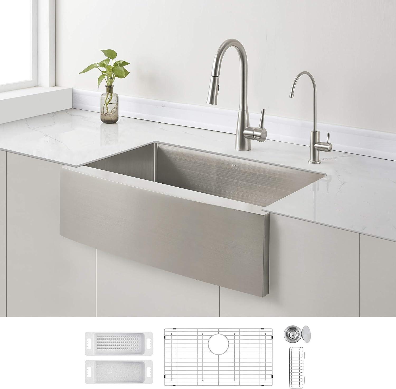 Best Farmhouse Sink: Zuhne Prato 30 Inch Kitchen Sink