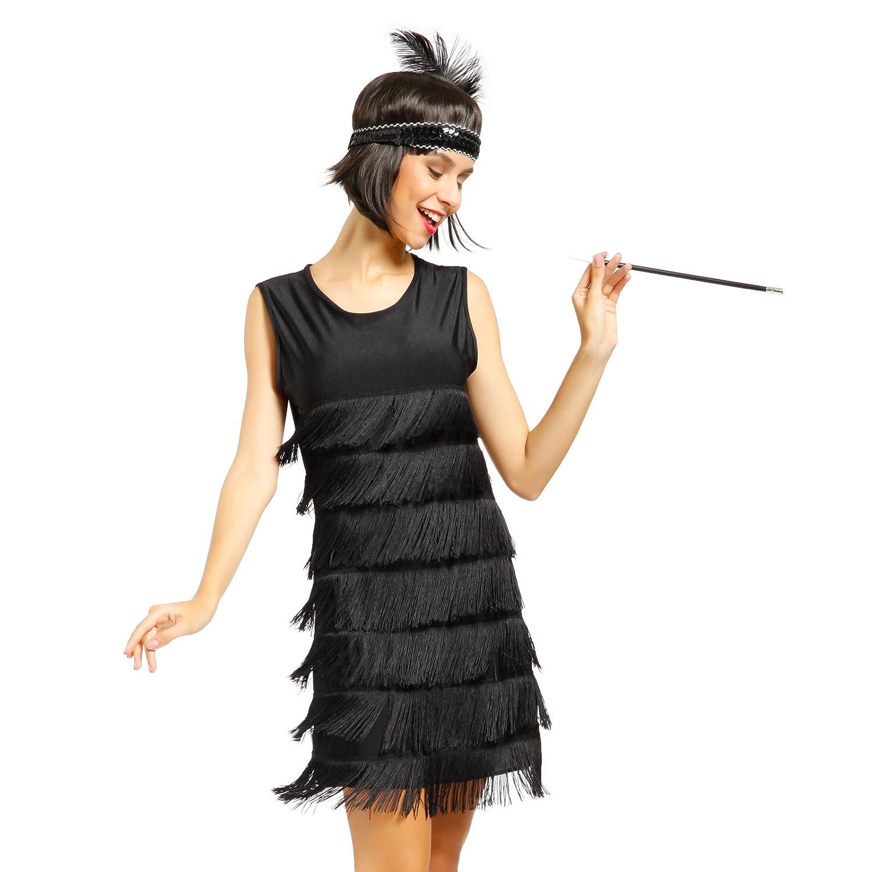 Venta de vestidos de fiesta con flecos
