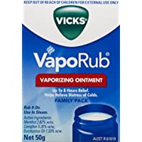 Vicks VapoRub Ointment Cold/Cough Relief 50g