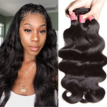 Amazon Com Jolia Hair Brazilian Body Wave 3 Bundles 100