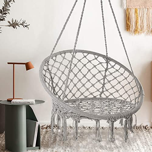 Durable Hanging Hammock Chair Macrame Swing