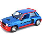 Bburago Coche Metal Renault 5 Turbo Color Rojo Escala 1:24, roja (15621088BL