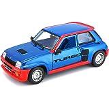 Bburago Coche Metal Renault 5 Turbo Color Rojo Escala 1:24 roja 15621088BL