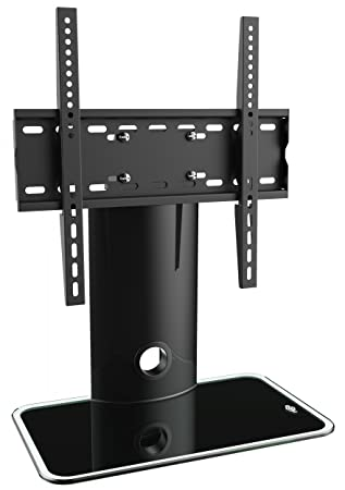 Ricoo Meuble Tv Design Fs303B Support Sur Pied En Verre Suspension
