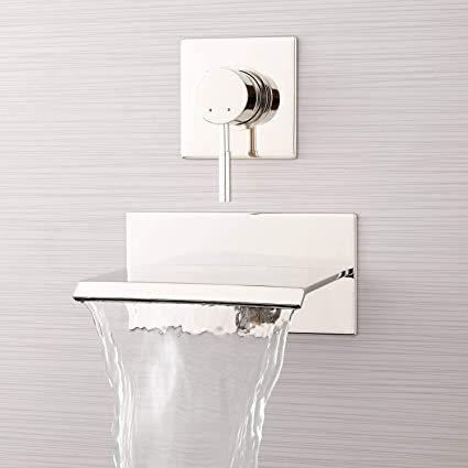 Signature Hardware 378994 Lavelle 6 1 2 Waterfall Wall Mounted Tub