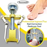 Sozzumi® Ingrown Toenail Correction Tool Nail Correction Kit Toe Clamp Stainless Steel Toenail Lifter Toes Treatment Pedicure Tool (1 Pc)