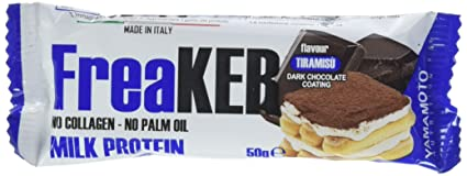 Yamamoto Nutrition FreaKer, Tiramisú con Cobertura de Chocolate Negro - 20 Barras