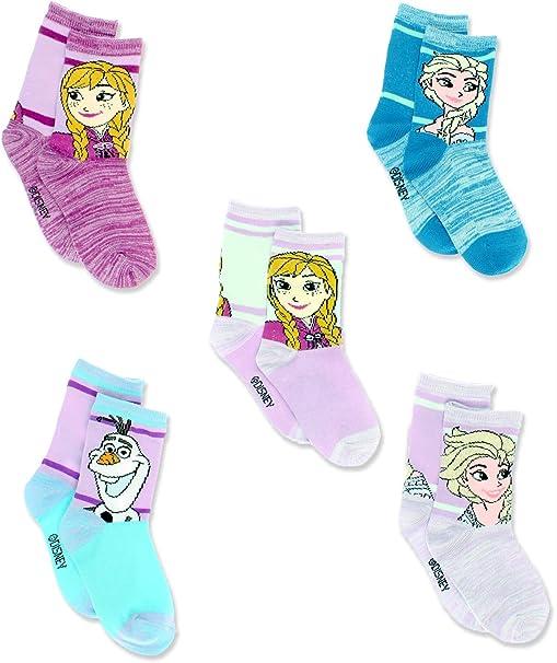 Disney Princess Little Girls 6 pack Socks