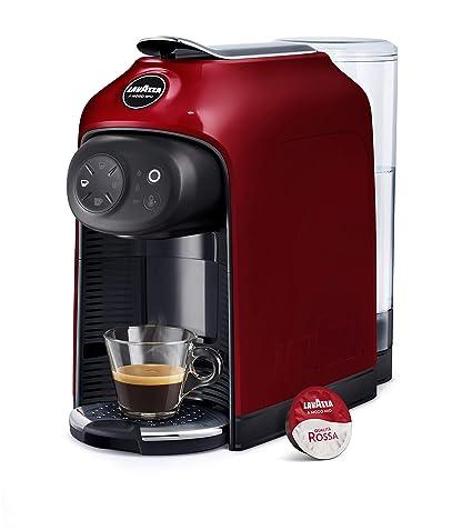 Lavazza Idola Independiente Máquina de café en cápsulas Rojo 1,1 L 1 tazas Totalmente