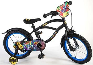 Batman Bicicleta Infantil Niño Chico 16 Pulgadas Freno Delantero al...