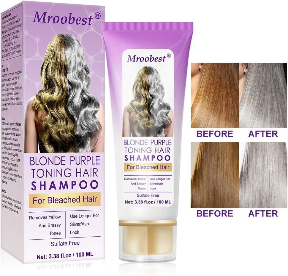 No Yellow Shampoo Purple Shampoo Silver Shampoo Brassy Silver Color Treated Hair Moisturizer Bleached Highlighted Hair Bleached Hair Toner Amazon Co Uk Beauty