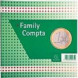 Exacompta 75E Registre Family Compta 25/25 100 Pages