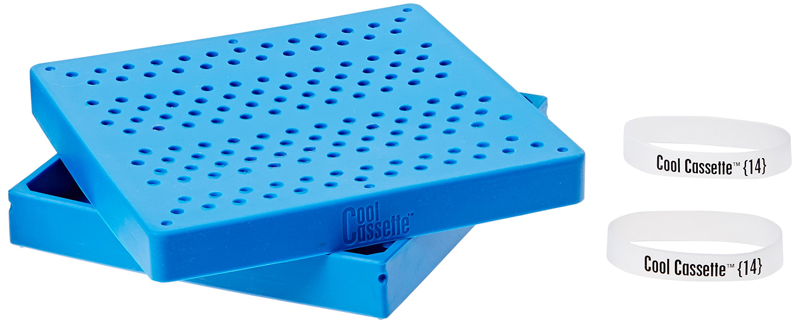 Practicon 7039772 BLU Cool Cassette 14 Instrument Container, Blue