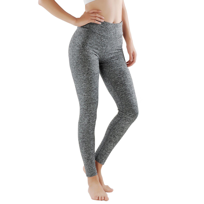 GoVIA Leggings Donne pantaloni di corsa con inserti in rete Fitness Yoga pantaloncini sportivi 4106 4106VA
