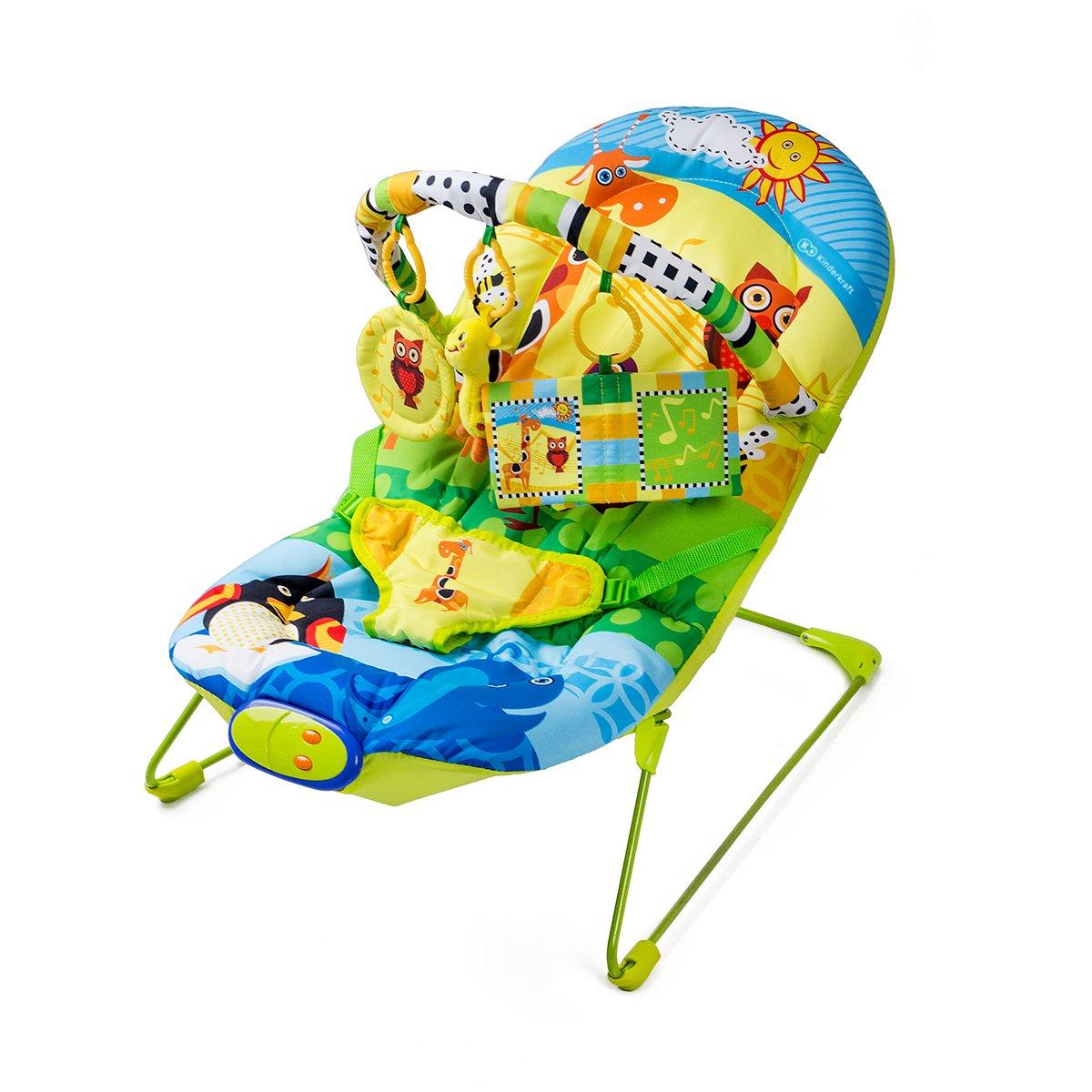 Kinderkraft Animals Babywippe Babyschaukel Sitz KKLEANIM000000