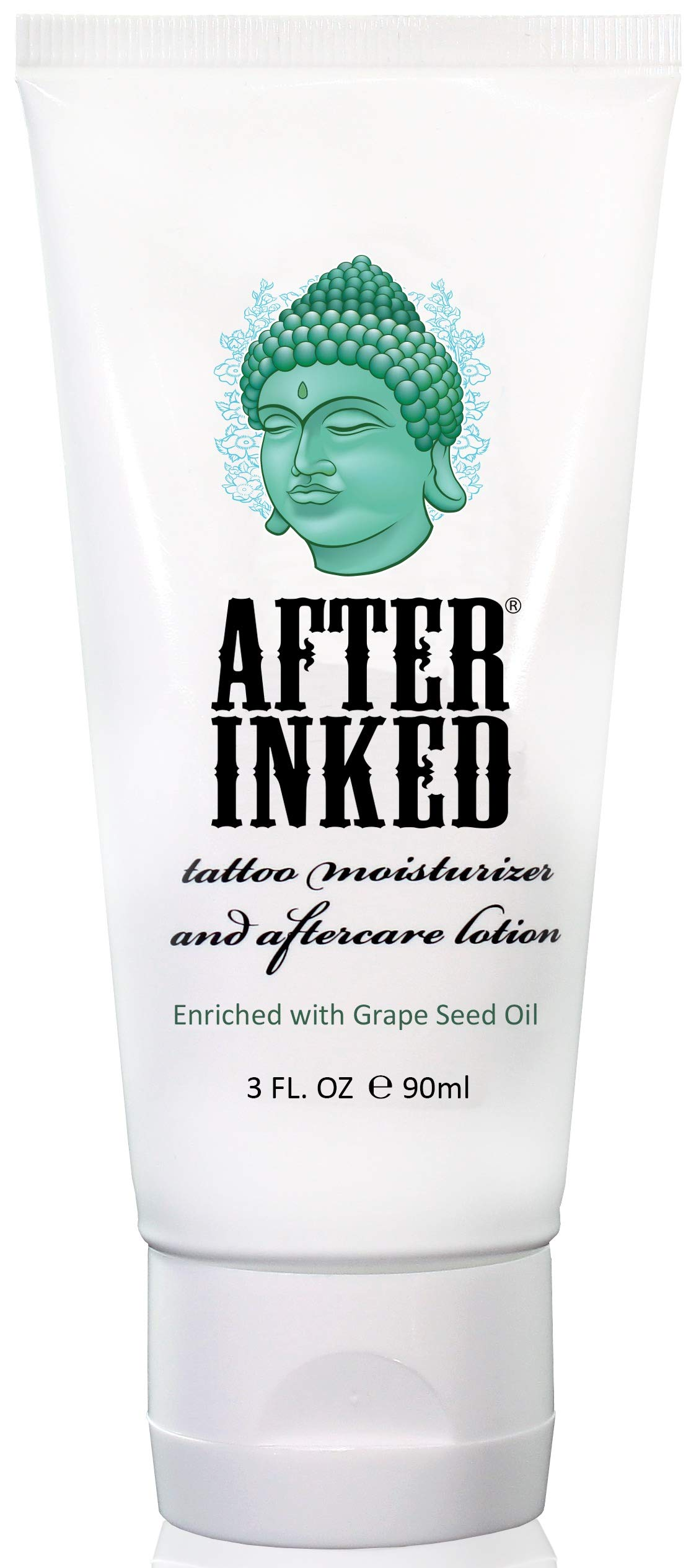 After Inked Tattoo Moisturizer & Aftercare Lotion 3oz Tube by After Inked