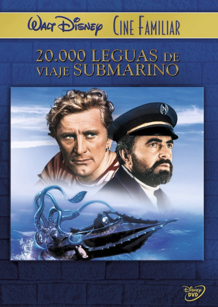 20 000 Leguas De Viaje Submarino Dvd Amazon Es Kirk Douglas James Mason Paul Lukas Peter Lorre Richard Fleischer Kirk Douglas James Mason Walt Disney Cine Y Series Tv