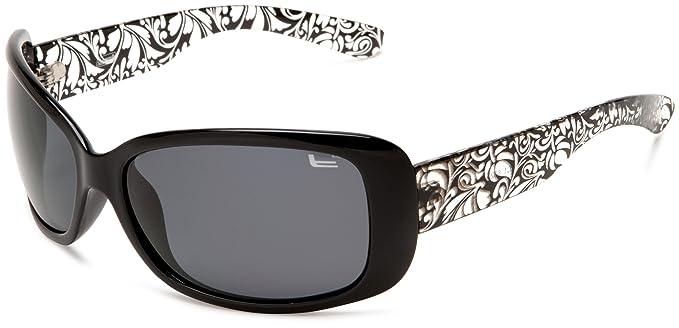 Coleman CC1 6023 polarizadas gafas de sol de la mujer, Black and Green Frame/
