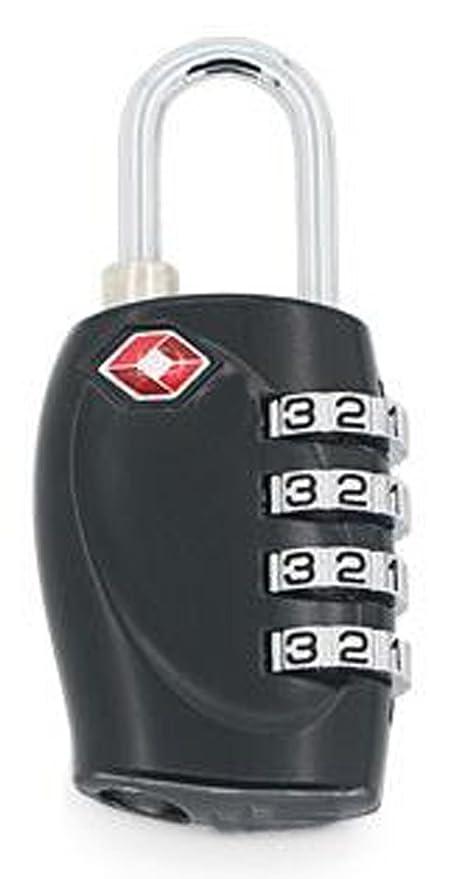 TSA Costumbres Maleta De Equipaje De Bloqueo Bloquear Autorización De Seguridad El Equipaje Facturado Candado Cerradura