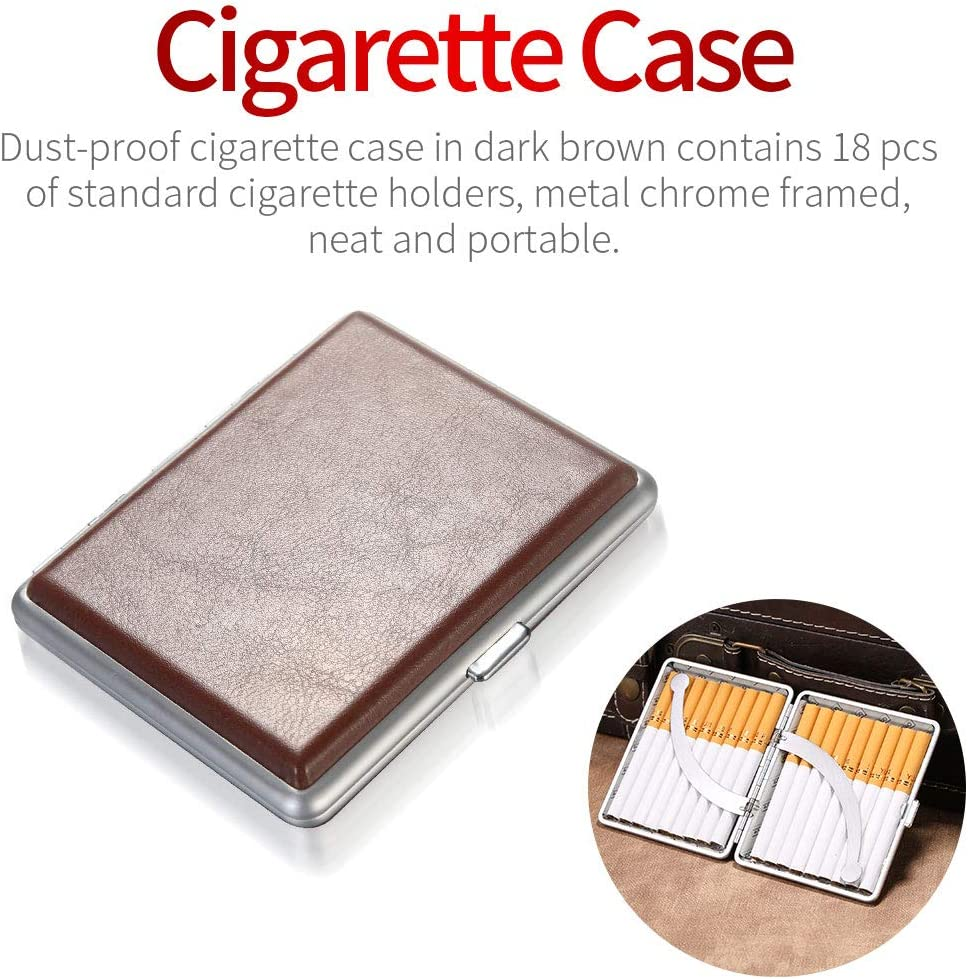 avec Bel /Étui /à Cigarettes Fourni pourR/éduire leGoudron et les Taches de Fum/ée ZOBO Filtre /à Cigarettes Peut /être Nettoy/é et R/éutilis/é
