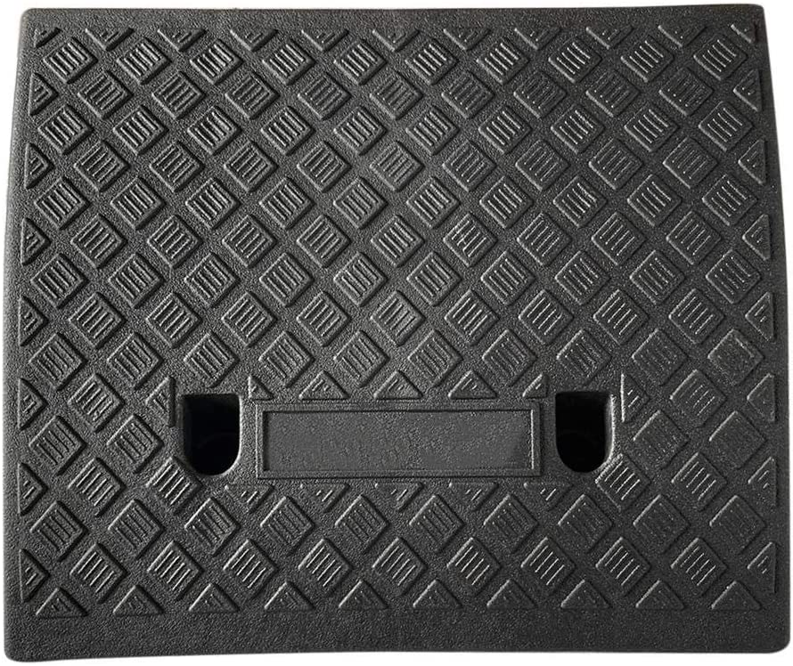 Rampas de bordillo Kit de rampa de umbral de pl/ástico Resistente para autom/óvil