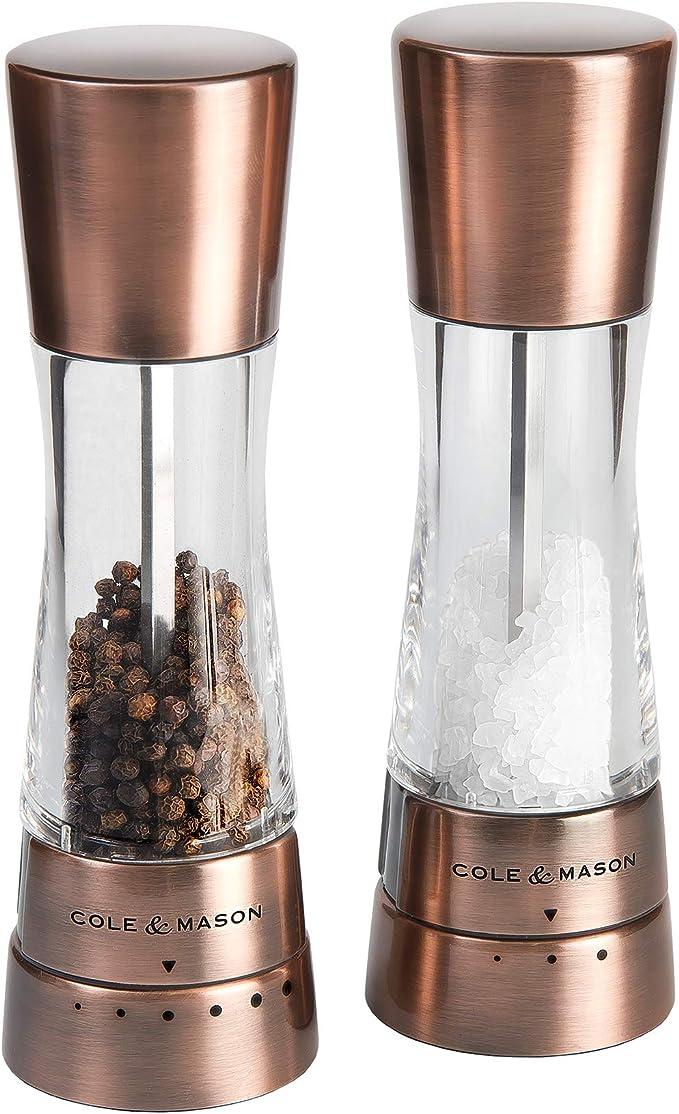 Cole & Mason H59418G Derwent Copper Salt and Pepper Mills