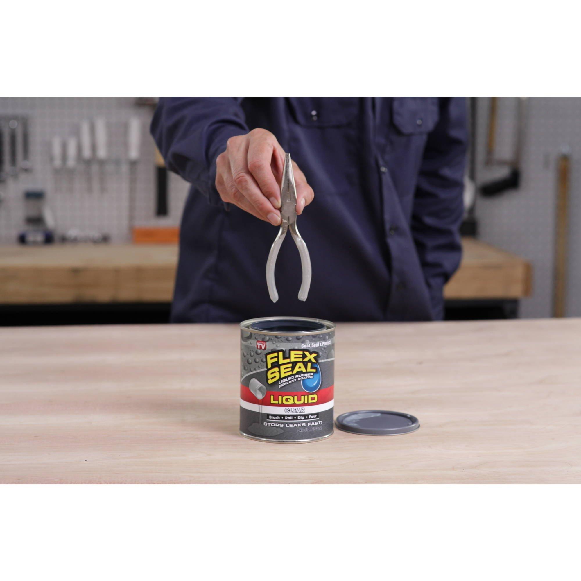 Flex Seal Liquid Rubber in a Can, 1-Gal, Clear by Flex Seal Liquid (Image #4)