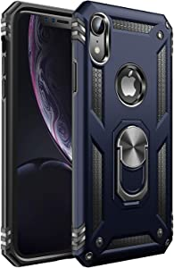 iPhone XR Case [ Military Grade ] 15ft. Drop Tested Protective Case | Kickstand | Compatible with Apple iPhone XR-Royal Blue