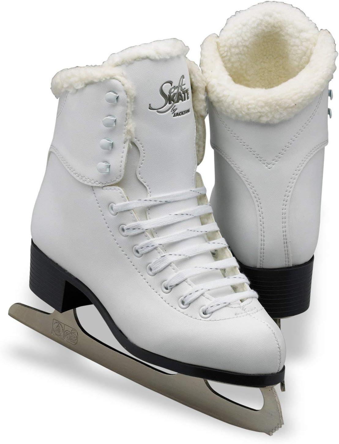 Jackson Ultima GS180 SoftSkate Womens Ice Skates Blue, Fleece, Pink, Purple