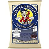 Pirate's Booty Aged Cheddar Lunch Packs, White, 0.5 Ounce- 36 Pack