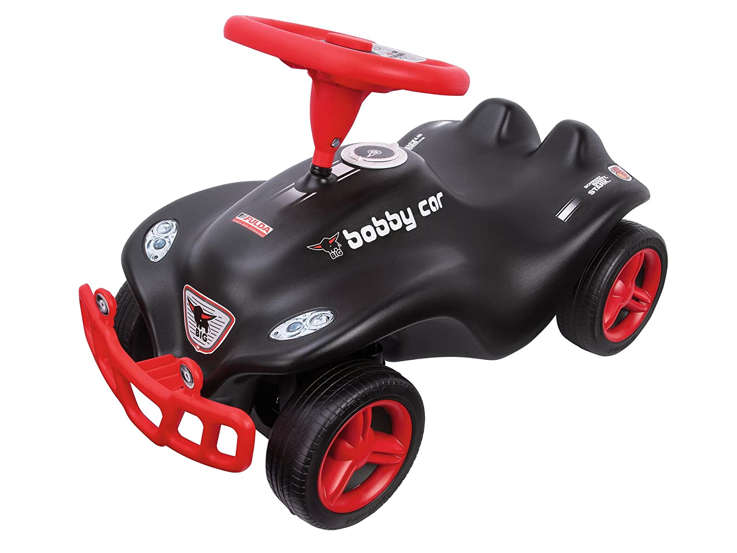 Bobby Car Classic oder New - Big New Bobby Car Schwarz