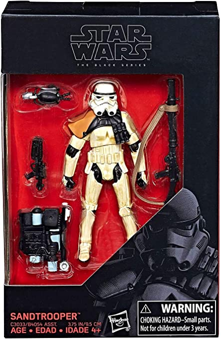 "New Star Wars Black Series Sandtrooper figure exclusive 3.75/"" starwars trooper"