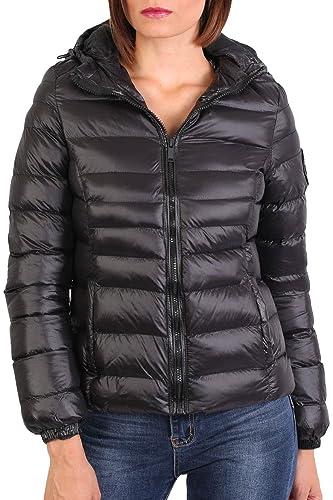 PILOT® chaqueta de nylon de manga larga acolchada con capucha