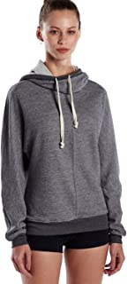 product image for US Blanks Unisex French Terry Snorkel Pullover Sweatshirt XS Tri Grey