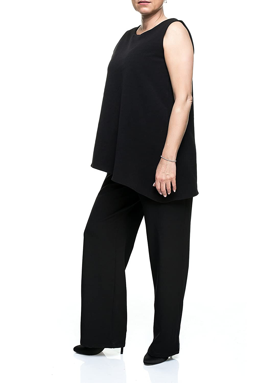 Damen Hosenanzug Jumpsuit Elegant Abendmode Abendkleidung Overall ...